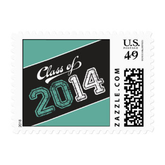Grungy Graduate Graduation Postage Stamp Postage Stamps