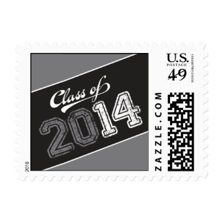 Grungy Graduate Graduation Postage Stamp Postage