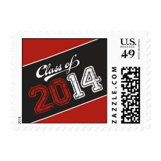 Grungy Graduate Graduation Postage Stamp Stamp