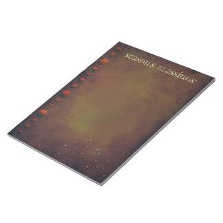 Grungy Holidays Notepad