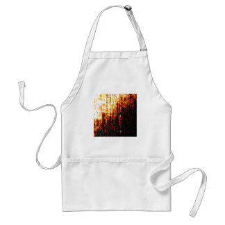 Grungy Image. Adult Apron