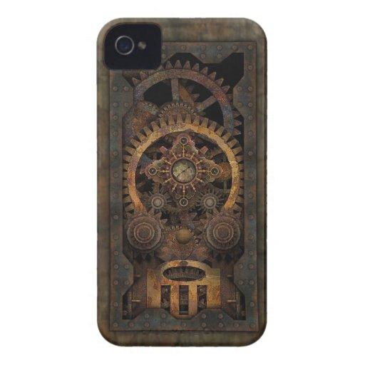 Grungy Industrial Steampunk Machine #2 iPhone 4 Case-Mate Cases