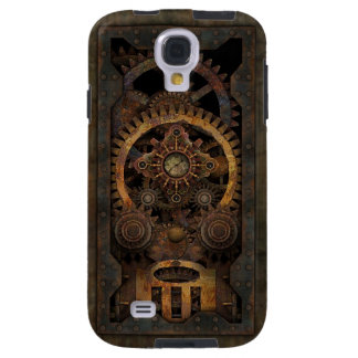 Grungy Industrial Steampunk Machine #2 Galaxy S4 Case
