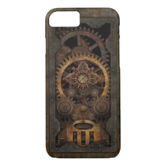 Grungy Industrial Steampunk Machine #2 iPhone 8/7 Case
