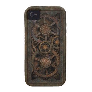 Grungy Industrial Steampunk Machine iPhone 4 Case