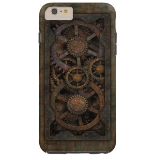 Grungy Industrial Steampunk Machine Tough iPhone 6 Plus Case
