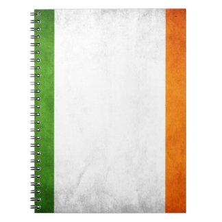 Grungy Irish Flag Notebook