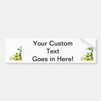 grungy leaves graphic corner.png bumper sticker