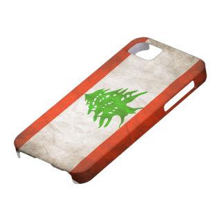 Grungy Lebanon Flag iPhone 5 Case