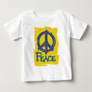 Grungy Peace Sign T Shirt