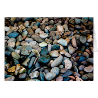 Grungy pebbles card
