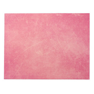Grungy Pink Notepad