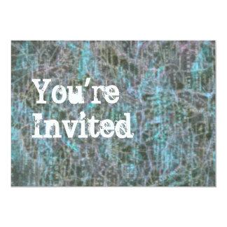 Grungy Pixels invitation