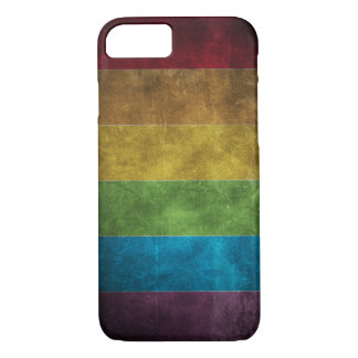 Grungy Rainbow iPhone 7 case