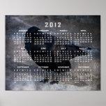 Grungy Raven; 2012 Calendar Poster