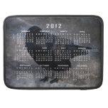 Grungy Raven; 2012 Calendar Sleeve For MacBooks