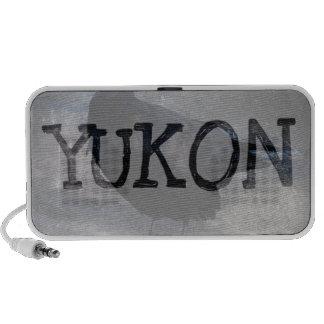 Grungy Raven; Yukon Territory Souvenir Speakers