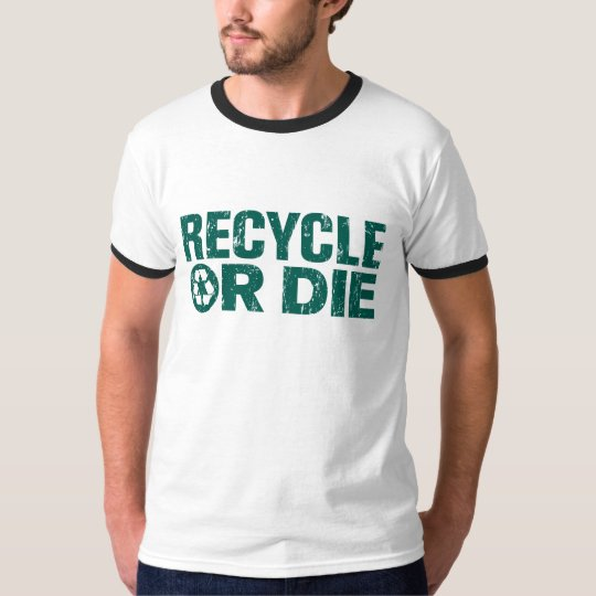 grungy recycle Tshirt