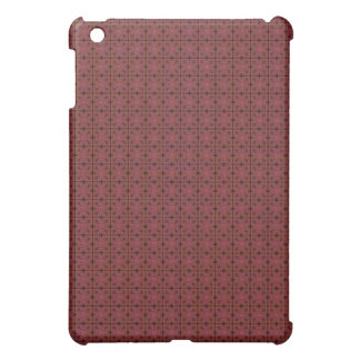 Grungy Red Tiles iPad Case