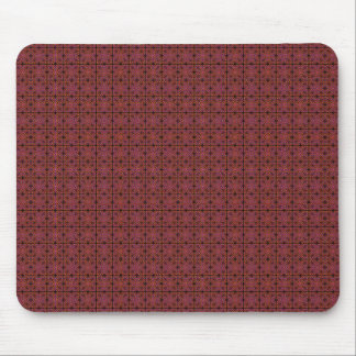 Grungy Red Tiles Mousepad