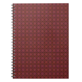 Grungy Red Tiles Notebook