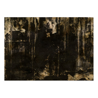 Grungy Ripped Black Background Large Business Card