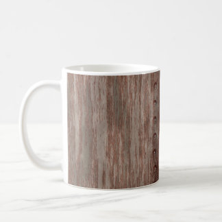 Grungy Riveted Rusty Metal Coffee Mug