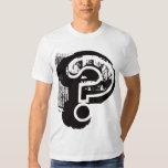 Grungy Shirt Design - Question Mark
