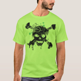 Grungy Skull Halloween t-shirt