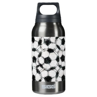 GRUNGY SOCCER BALLS INSULATED WATER BOTTLE