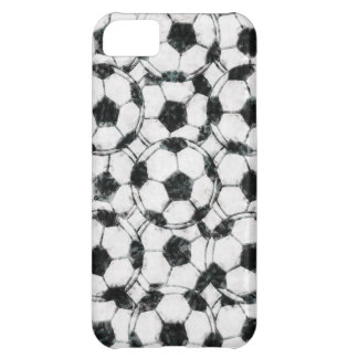 GRUNGY SOCCER BALLS iPhone 5C COVERS