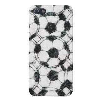 GRUNGY SOCCER BALLS iPhone SE/5/5s CASE