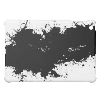 Grungy Splattered Ink Background iPad Mini Covers