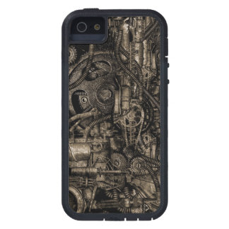 Grungy Steampunk Machinery Case For iPhone 5
