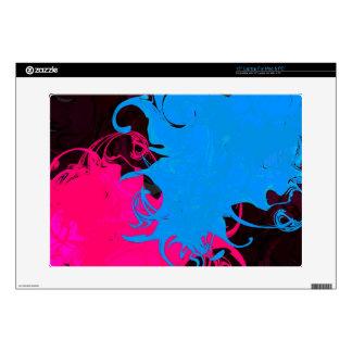 "Grungy Swirl Skin 15"" Laptop Skins"