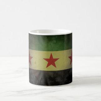 Grungy Syria Flag Coffee Mug