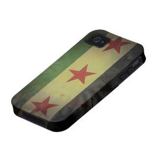 Grungy Syria Flag iPhone 4/4S Cover