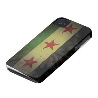 Grungy Syria Flag iPhone 4 Cover