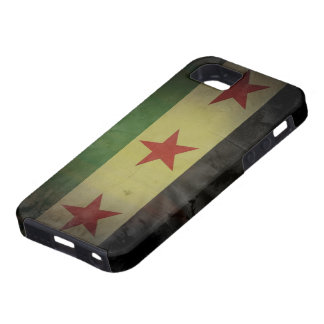 Grungy Syria Flag iPhone 5 Case