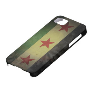 Grungy Syria Flag iPhone 5 Cases
