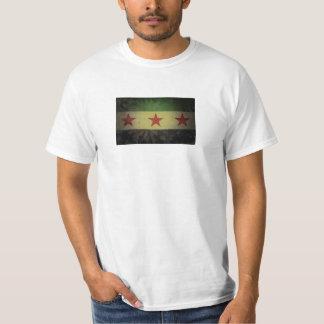 Grungy Syria Flag T-Shirt