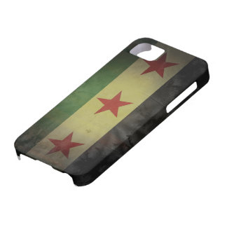 Grungy Syrien-Flagge iPhone SE/5/5s Case