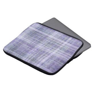 """Grungy Tartan Neoprene Laptop Sleeve 13"""""""