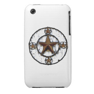 GRUNGY TEXAS STAR iPhone 3 CASES