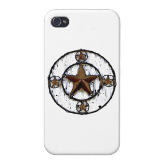 GRUNGY TEXAS STAR iPhone 4 CASES