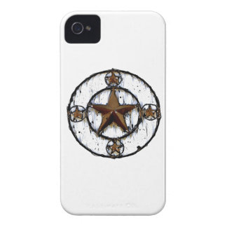 GRUNGY TEXAS STAR iPhone 4 COVER