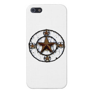 GRUNGY TEXAS STAR iPhone SE/5/5s COVER