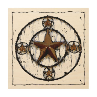 Texas Star Wall Art texas star wood wall art | zazzle
