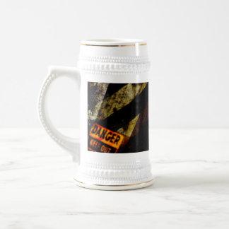 Grungy Tough Textured Beer Stein