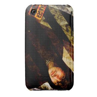 Grungy Tough Textured iPhone 3 Case-Mate Case